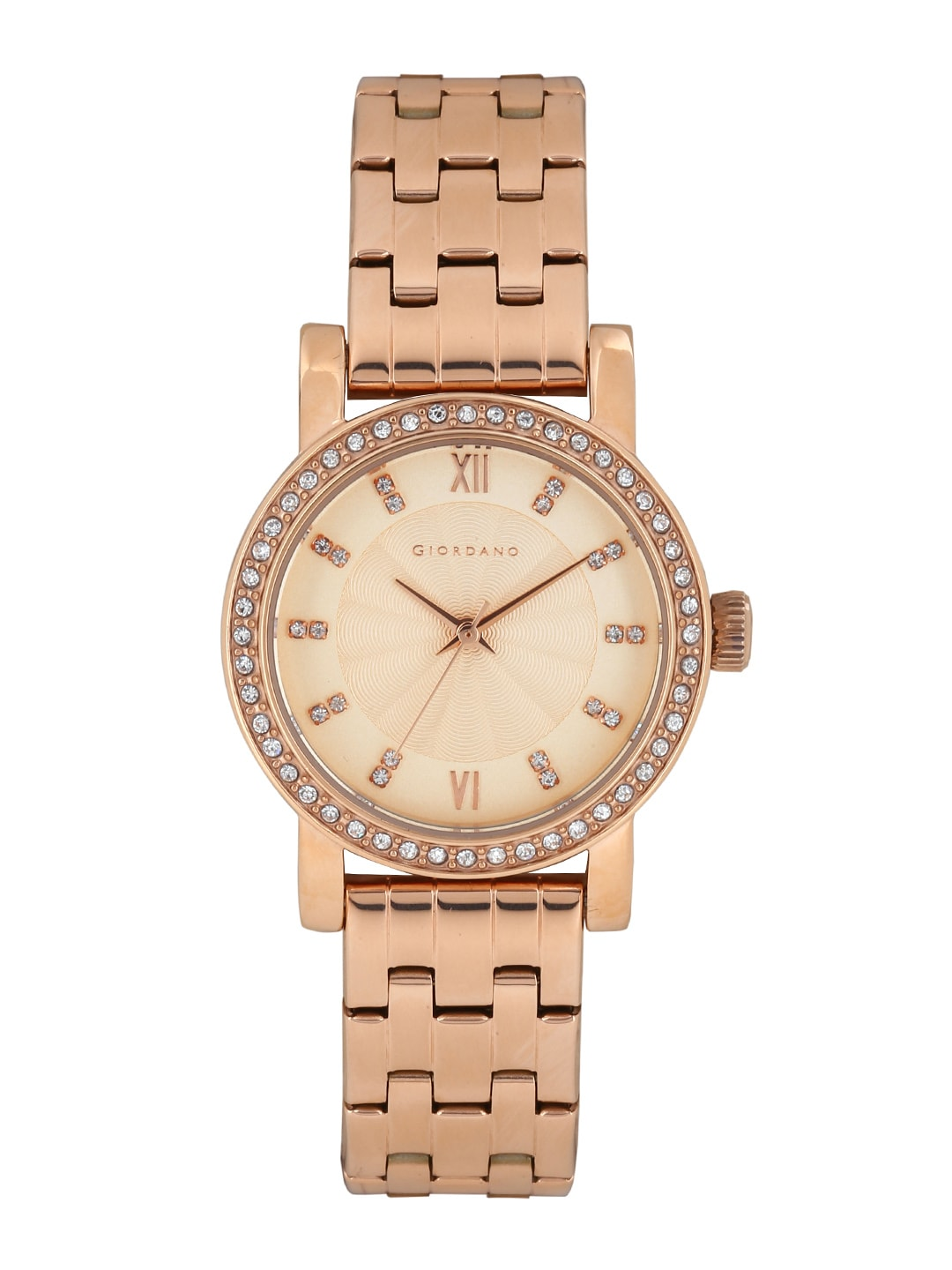 GIORDANO Women Rose Gold-Toned Dial Watch 2729-44 image
