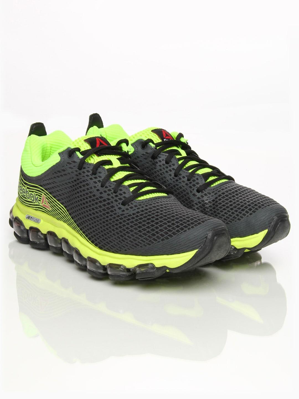 61031bcab8f Reebok m40403 Men Charcoal Grey Zjet Sports Shoes - Best Price in ...