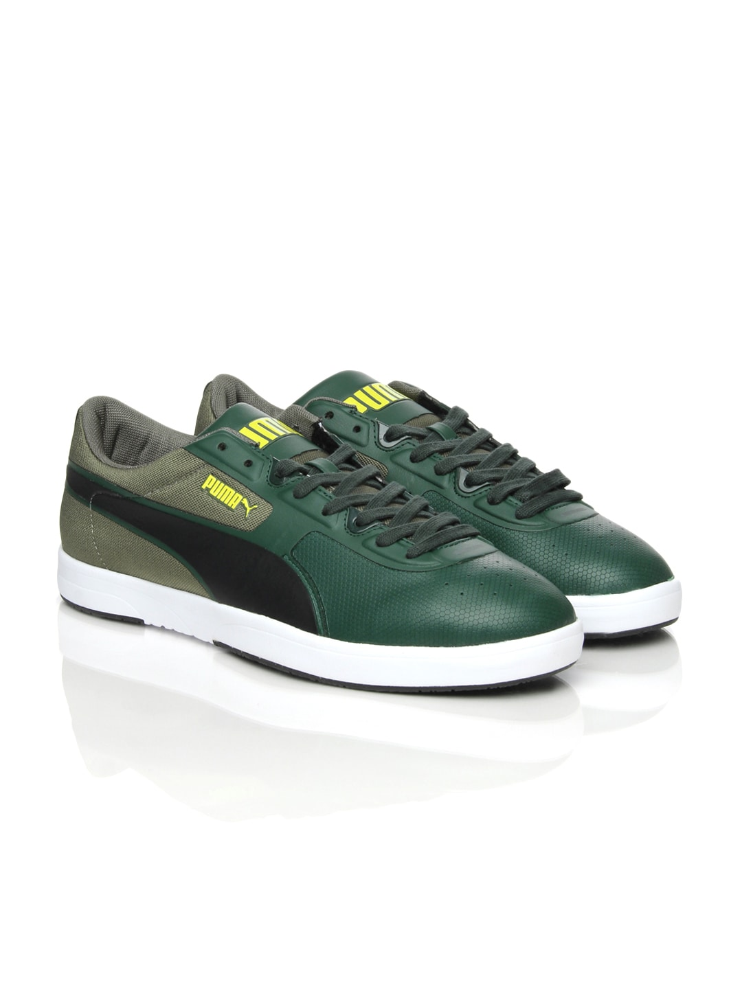 0ee2f05172532 Puma 35694803 Men Green Future Brasil Lite Rugged Casual Shoes- Price in  India