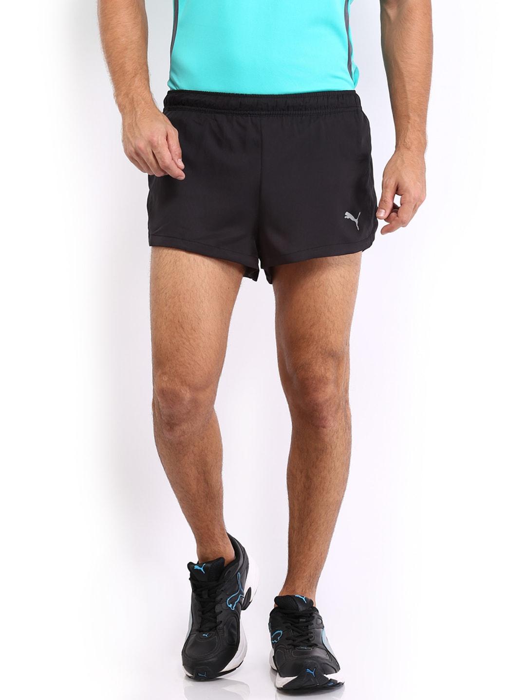 879d9f131d20 Puma 51289801 Men Black Running Split Shorts - Best Price in India ...