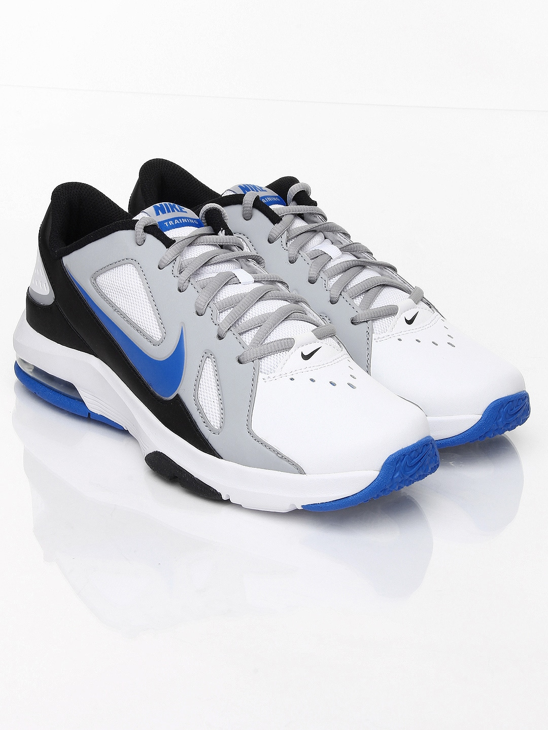 5f8a952acf62 Nike 643174-102 Men White And Grey Air Max Crusher Sports Shoes- Price in  India