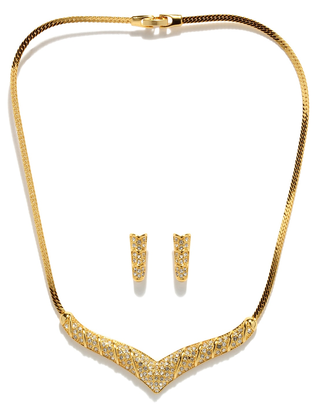 24 carat gold jewelry buy estelle 24 carat gold plated swarovski crystals 4015