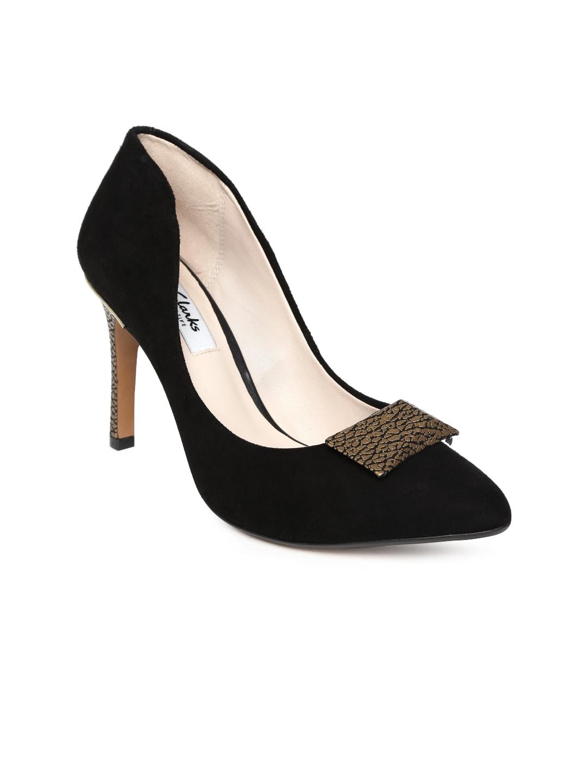 9e7cd69d2d4 Clarks Amali Opal Black Ankle Strap Stilettos for women - Get ...