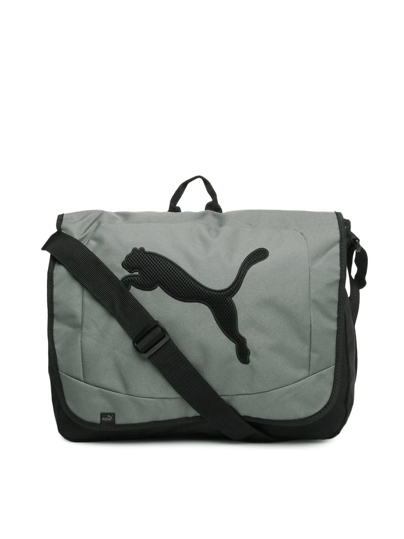 Puma 7031503 Men Grey Black Messenger Bag - Best Price in India ... c650886ef896a
