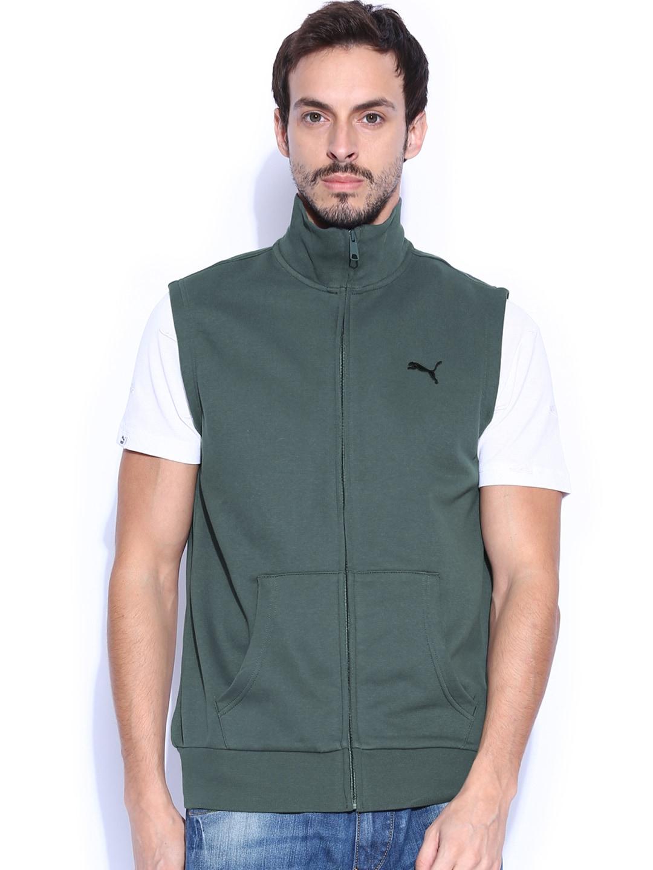 4610475a8315e Puma 83076003 Men Grey Sleeveless Sweatshirt - Best Price in India ...