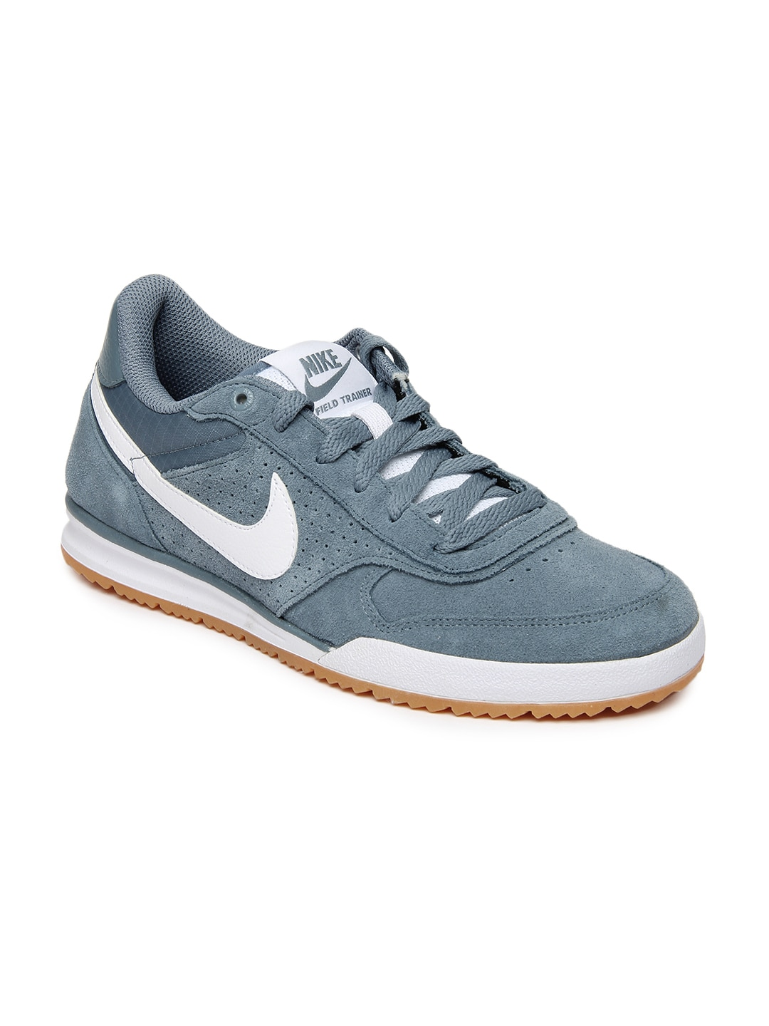 newest 7e1ad 1413f Nike 443918-419 Men Grey Field Training Shoes- Price in India