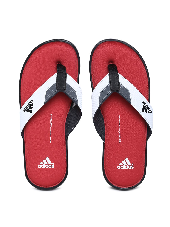 b6d669d915f Adidas b35911 Men White Viveup Ff Thong Flip Flops - Best Price in ...