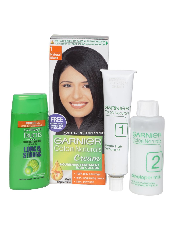 Garnier 8901526208630 Color Naturals Cream Nourishing Permanent Hair Colour Natural Black 1 Price In India