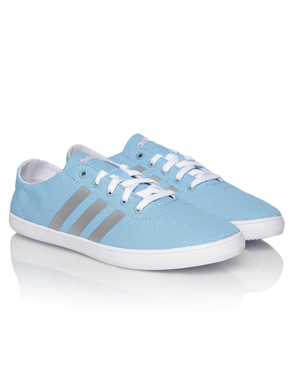 360a75a4562e Adidas neo f97691 Women Light Blue Qt Vulc Vs Casual Shoes- Price in India
