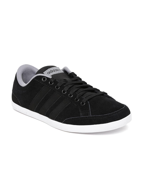 Adidas Neo F97701 Uomini Miglior Neri Caflaire Scamosciato Casual Scarpe Miglior Uomini Prezzo dfa25a