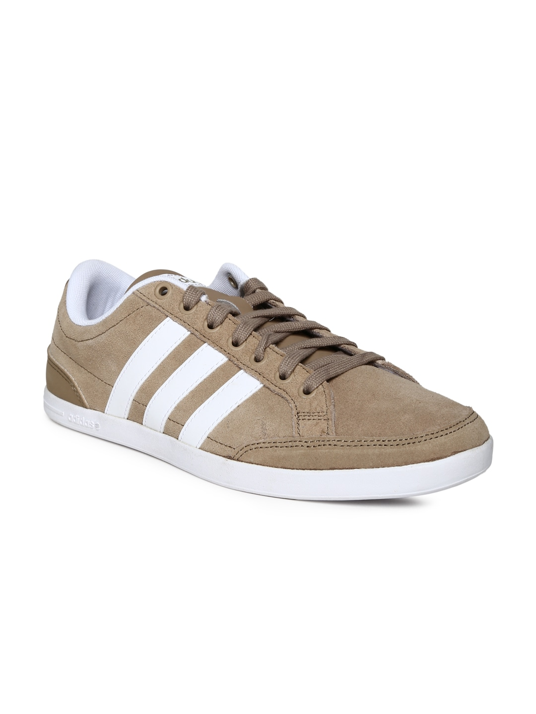 Adidas neo f97702 Men Beige Caflaire Suede Casual Shoes- Price in India 04ee532c6