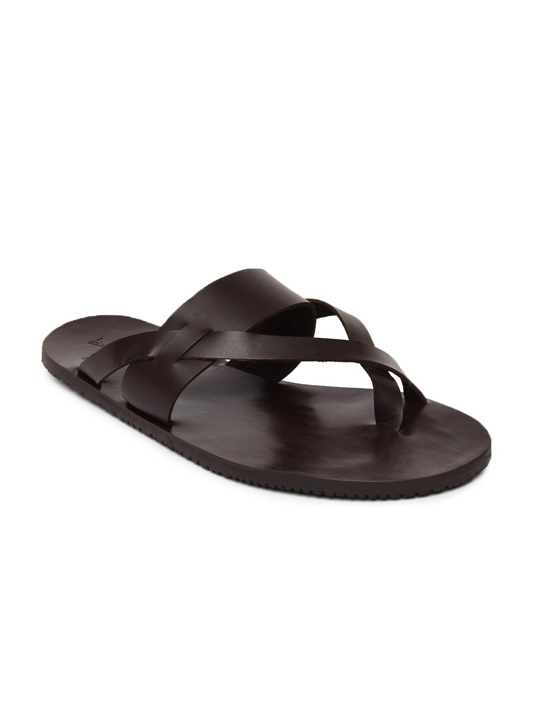 Van heusen vhmms00454 Van Huesen Men Brown Leather Sandals- Price in India 626ed906a