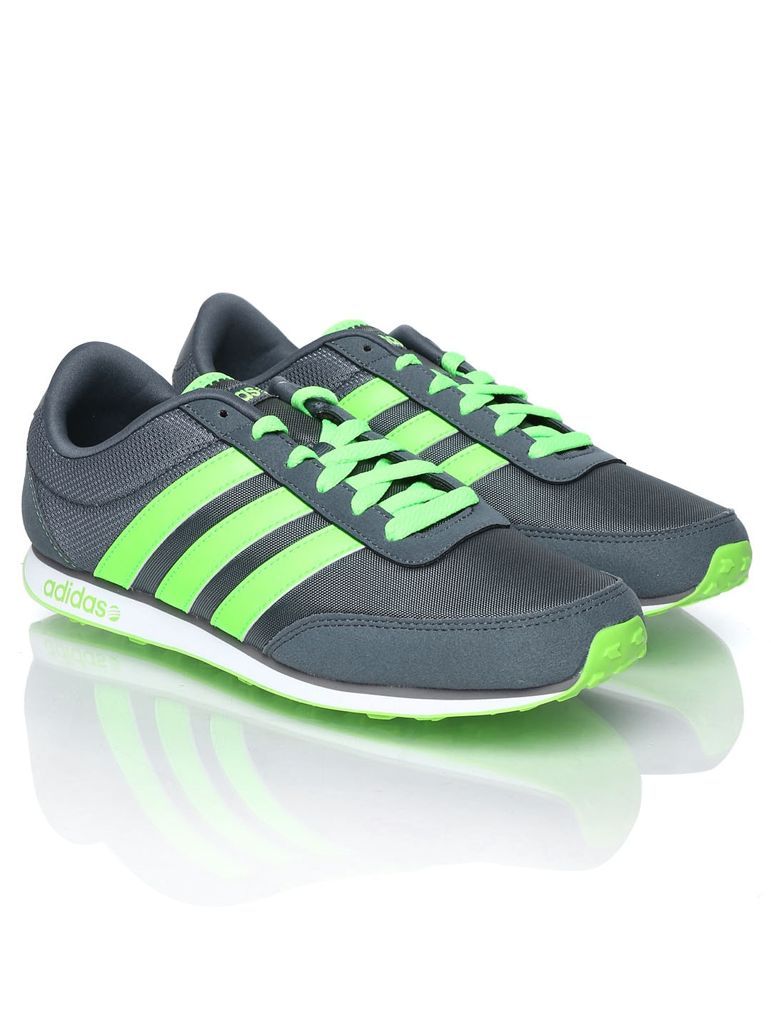 Adidas neo f97912 Men Grey V Racer Casual Shoes - Best