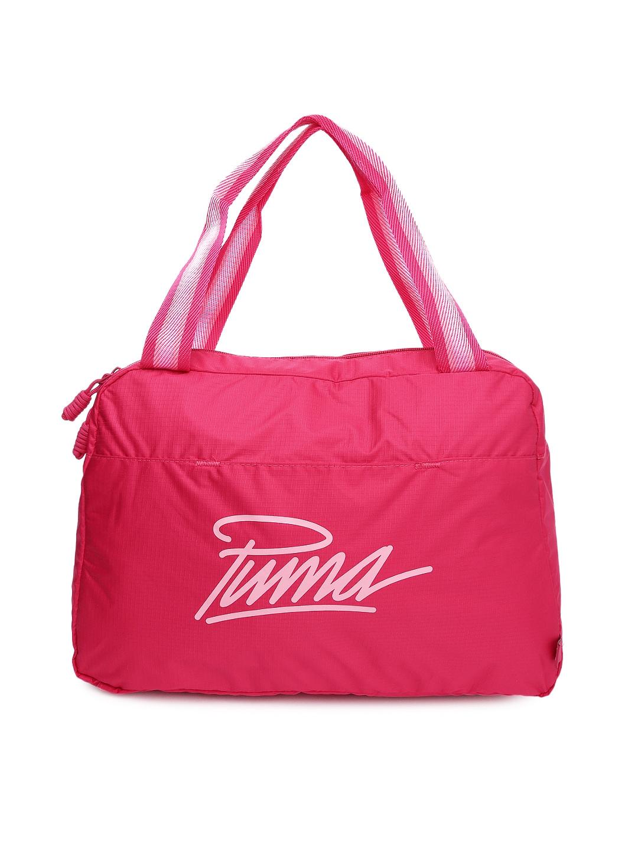 9d623d170b Puma 7296402 Women Pink Core Grip Shoulder Bag - Best Price in ...