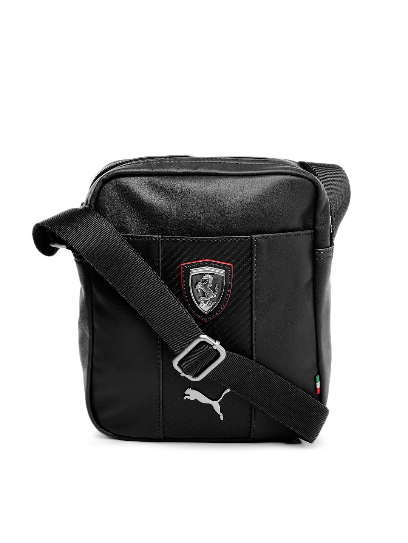 Puma 7315101 Unisex Black Ferrari Ls Portable Messenger Bag- Price in India 98764cd38dc59