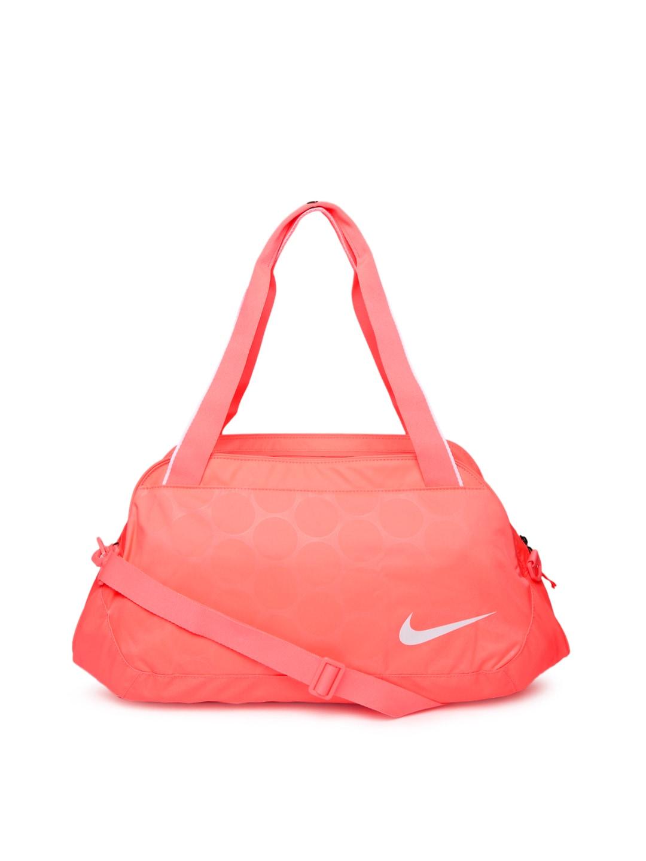 ecdf527444f4 Nike ba4653-661 Women Neon Pink Legend Club Duffle Bag - Best Price ...