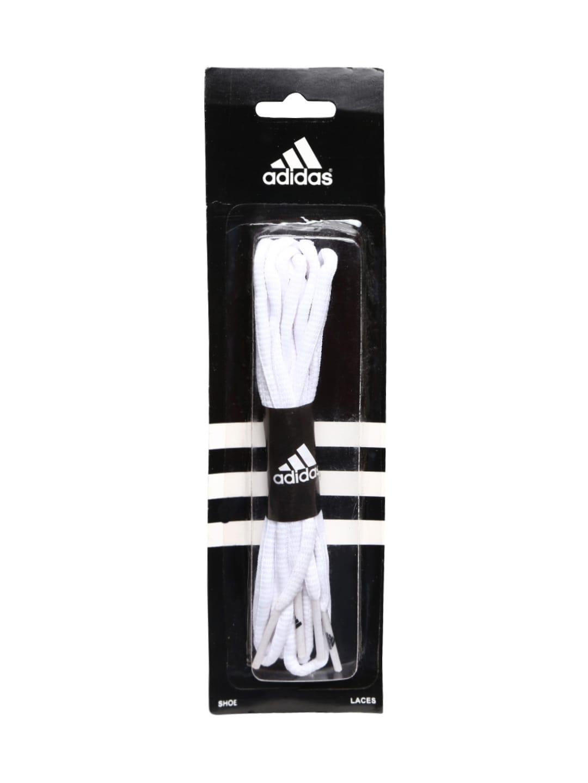 adidas shoe laces white