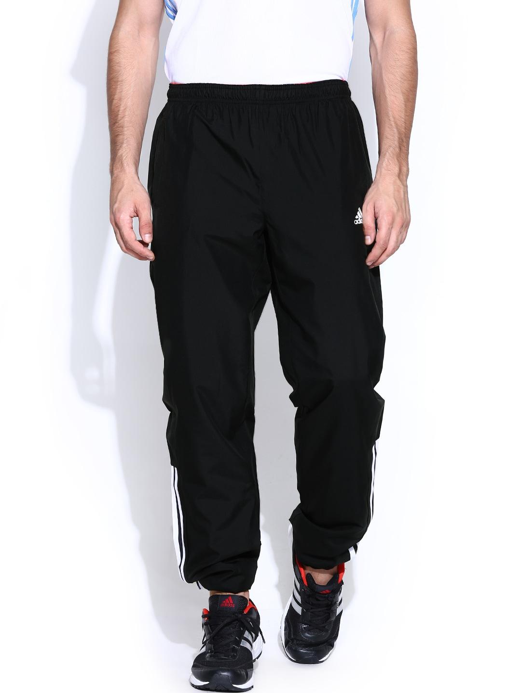 Adidas a98691 Men Black Base 3s Wv Training Track Pants