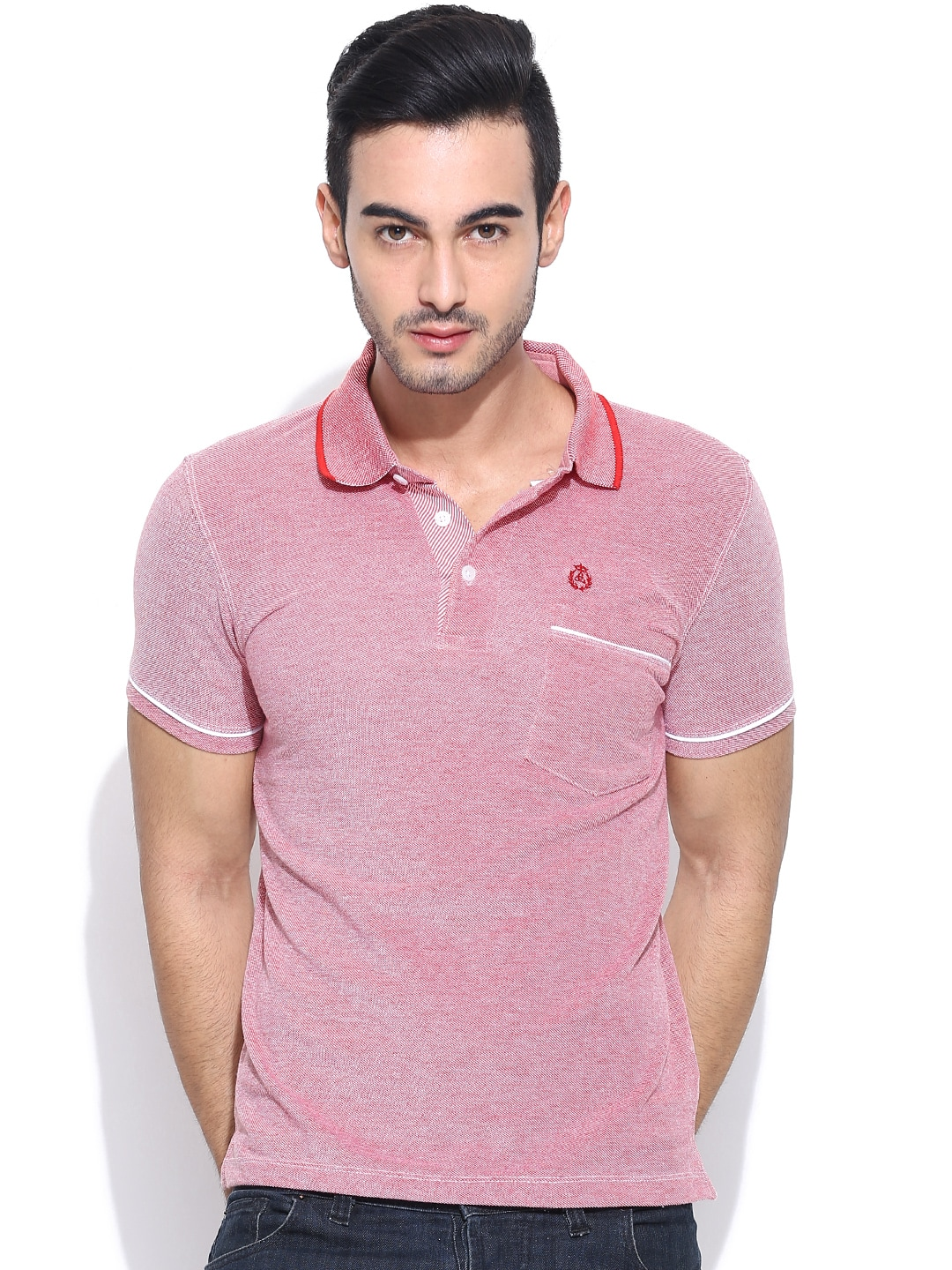 95604df9 Duke lf1963-red Stardust Red Polo T Shirt - Best Price in India | priceiq  ...