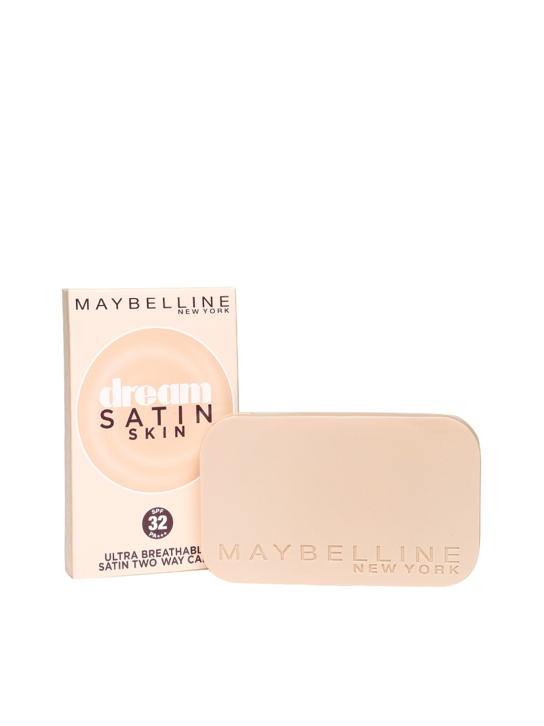 Maybelline 6902395362906 Dream Satin Skin Sandy Brown Foundation Po3 Two Way Cake 01 Light Price In India