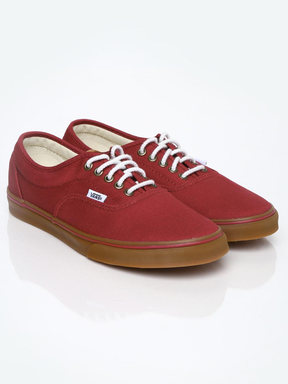 045cca1188 Vans vn-0xhhfnr Men Maroon Canvas Shoes - Best Price in India ...