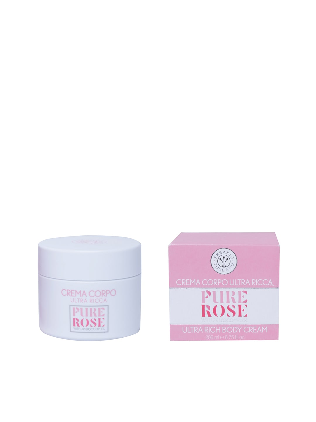 ERBARIO TOSCANO Pure Rose Ultra Rich Body Cream image