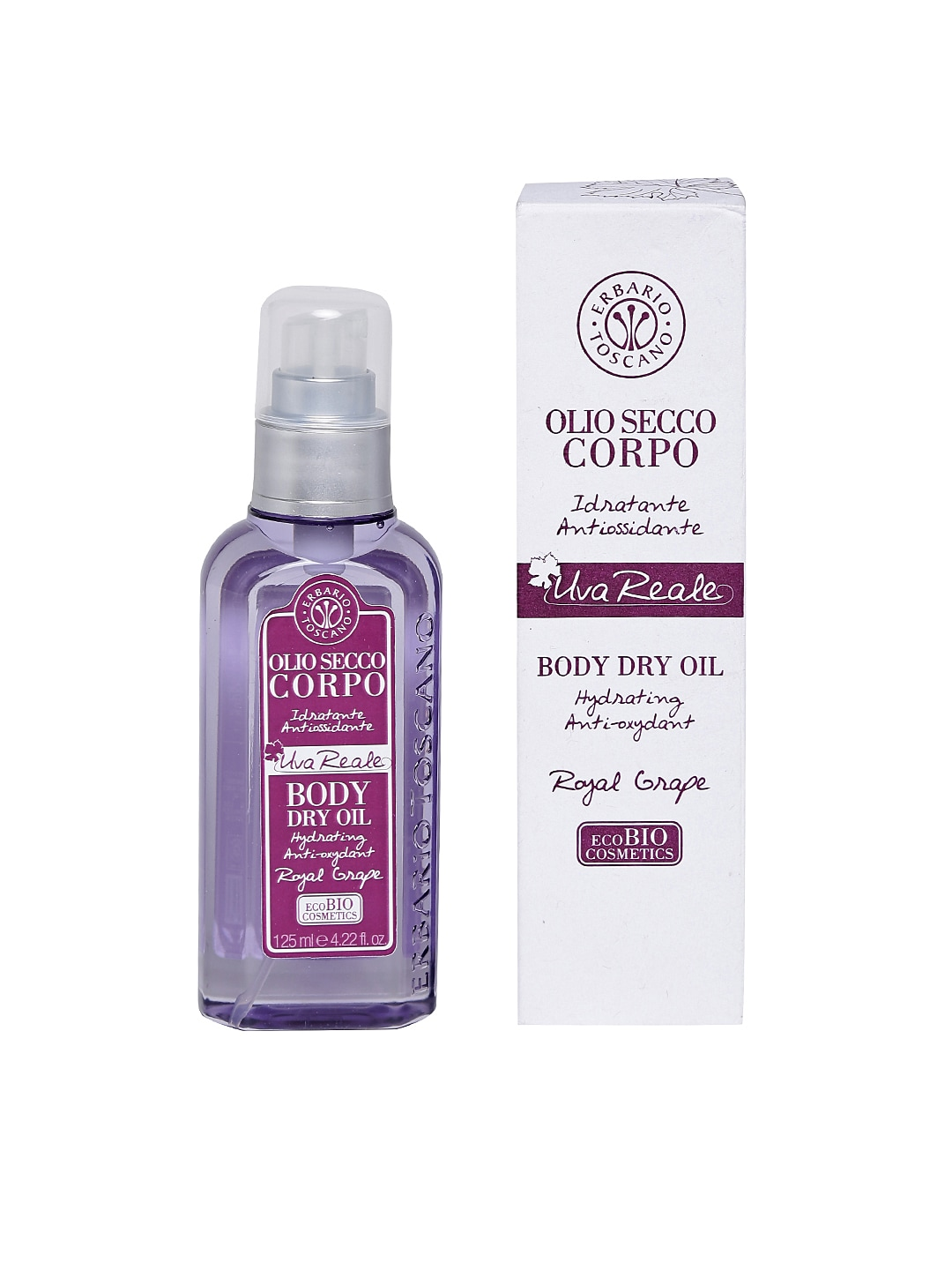 ERBARIO TOSCANO Unisex Royal Grape Body Dry Oil image