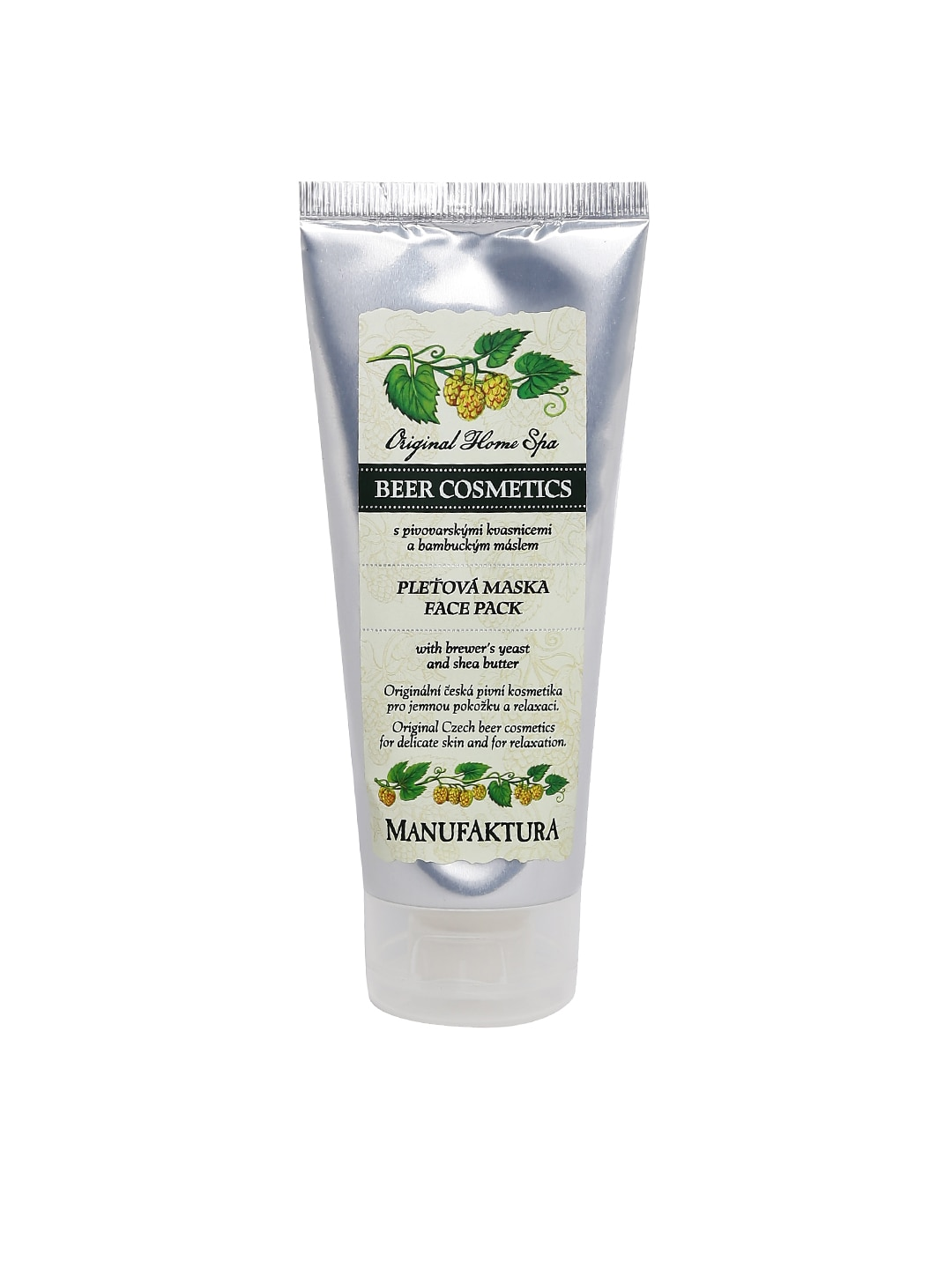 MANUFAKTURA Unisex Beer Spa Face Pack with Shea Butter image