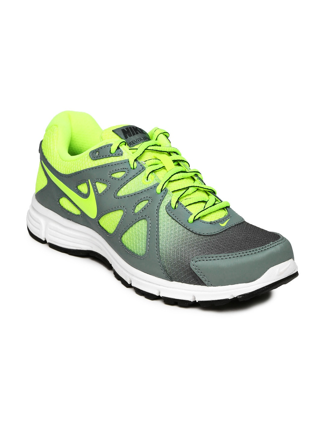 77362e074f4b canada nike 724918 410 men grey and green revolution 2 msl premium running  shoes price in