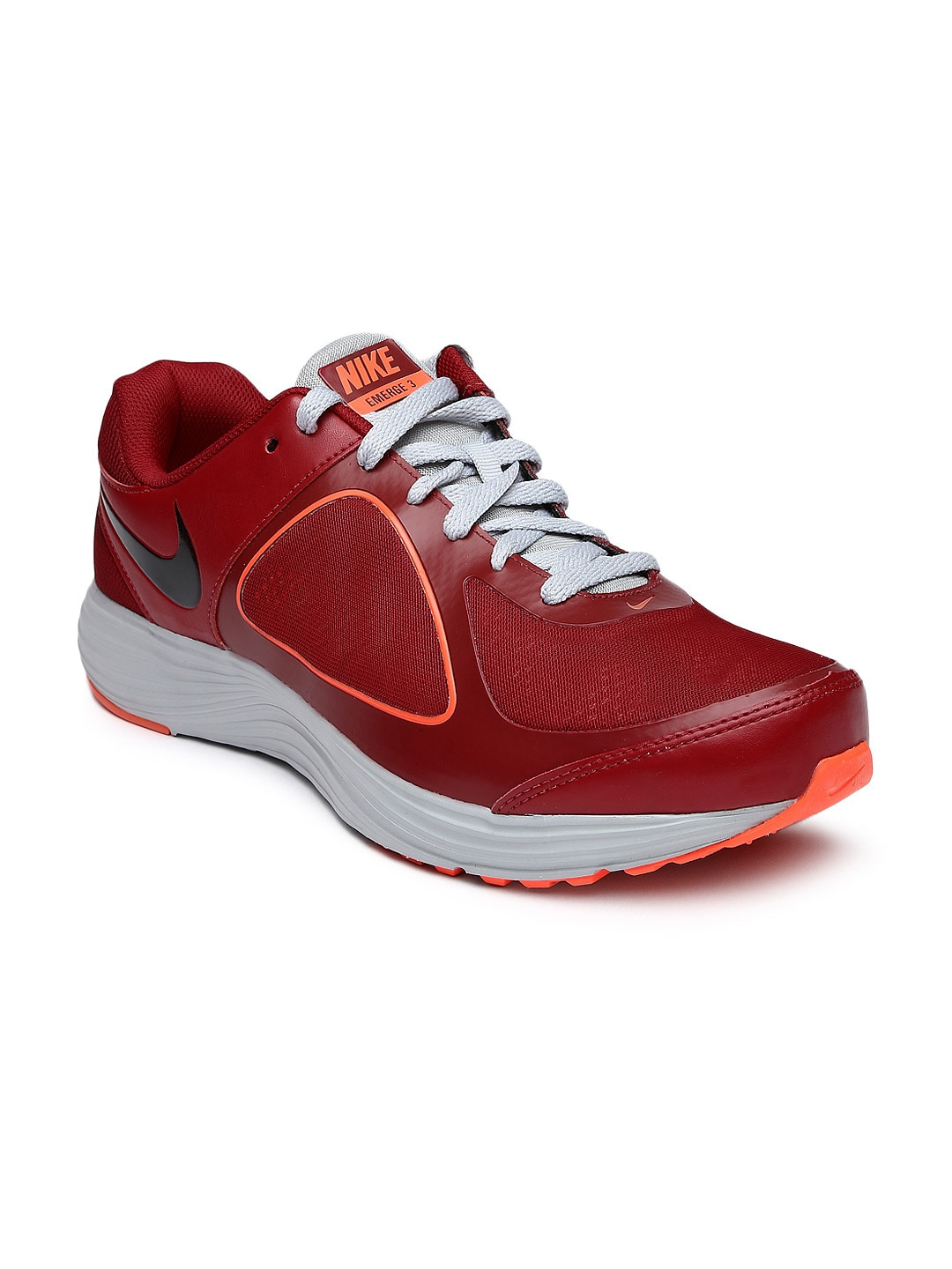 Nike 704656-600 Men Red Emerge 3 Running Shoes - Best Price in ... 3363e0e7fe