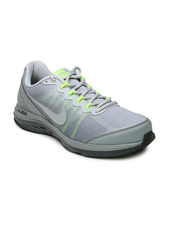 50ed7e6d1bd7a2 Nike 724473-027 Men Grey Dual Fusion Run 3 Running Shoes - Best ...