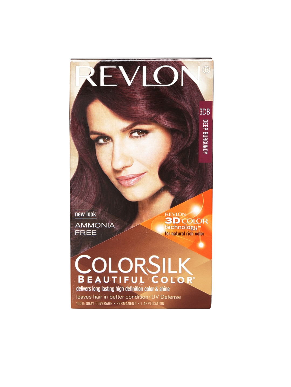 Revlon 8902656700599 Colorsilk 3 D Deep Burgundy Hair Colour 3db