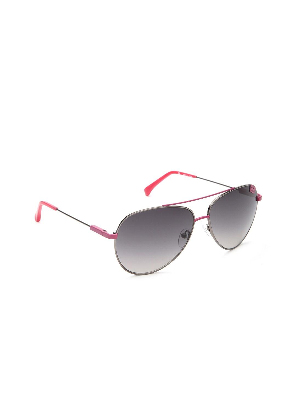 b6c0665d813ee Calvin klein ckj-106-008-pink-with-silver Jeans Unisex Aviator Sunglasses  Ckj 106 008- Price in India