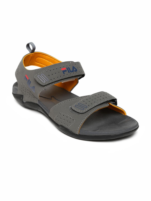 876d4f4ba4a9 Fila 11002875 Men Grey Drifter Cross Sports Sandals - Best Price in ...