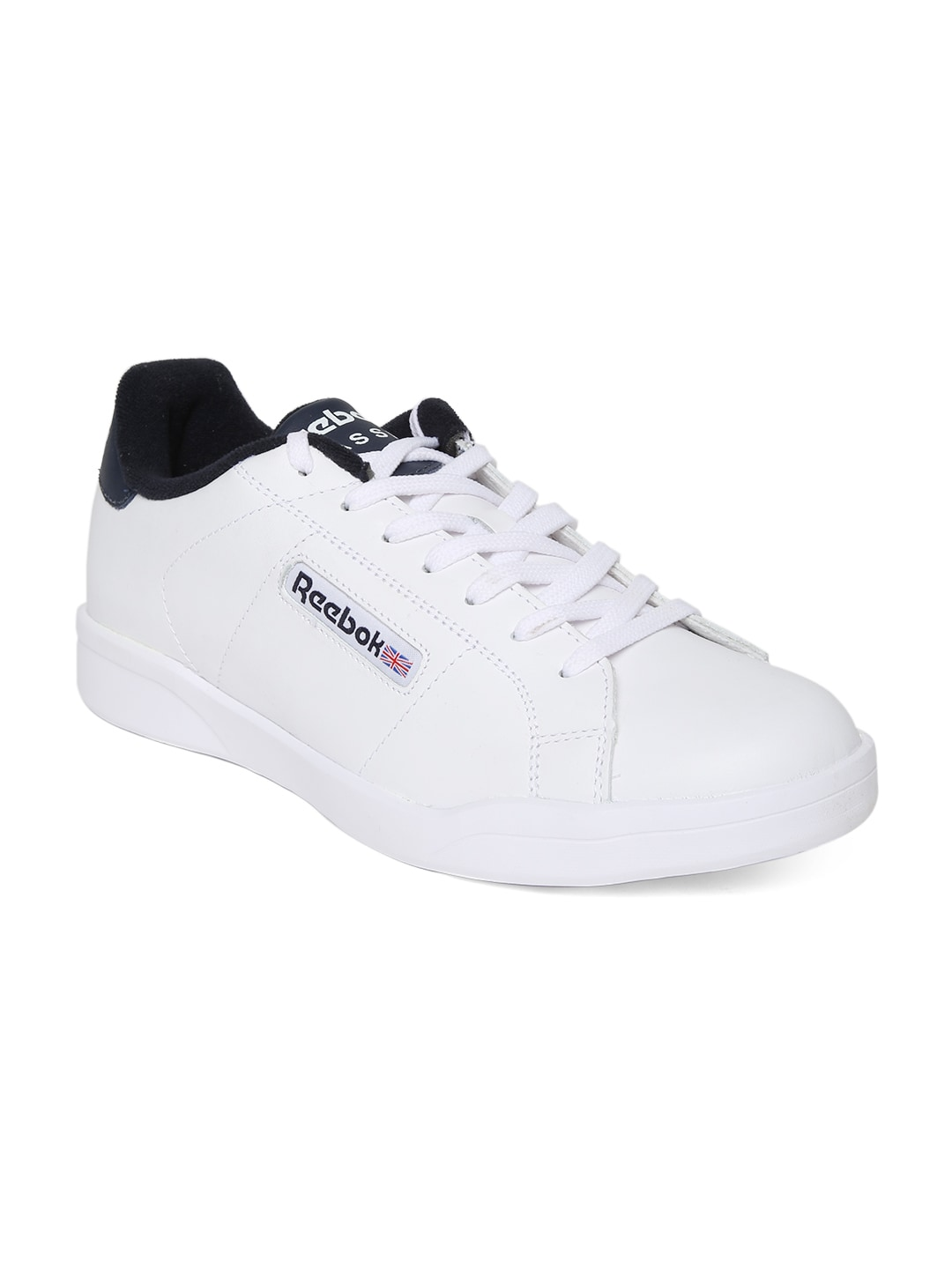 6daaf3959 Reebok m46129 Classic Men White Leather Casual Shoes- Price in India