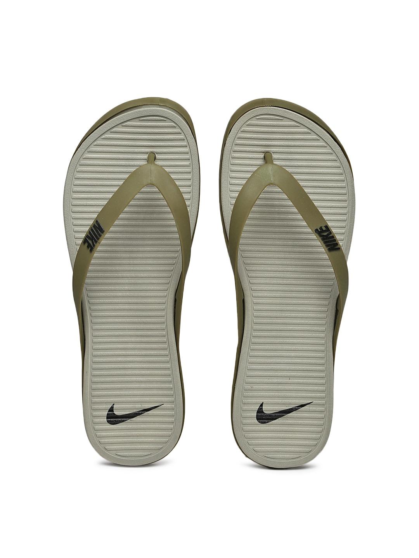 cheaper 452c9 535e9 Nike 603731-302 Men Olive Green And Grey Matira Thong ...