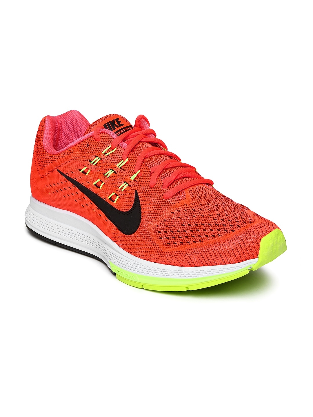 Neon Orange Womens Running Shoes