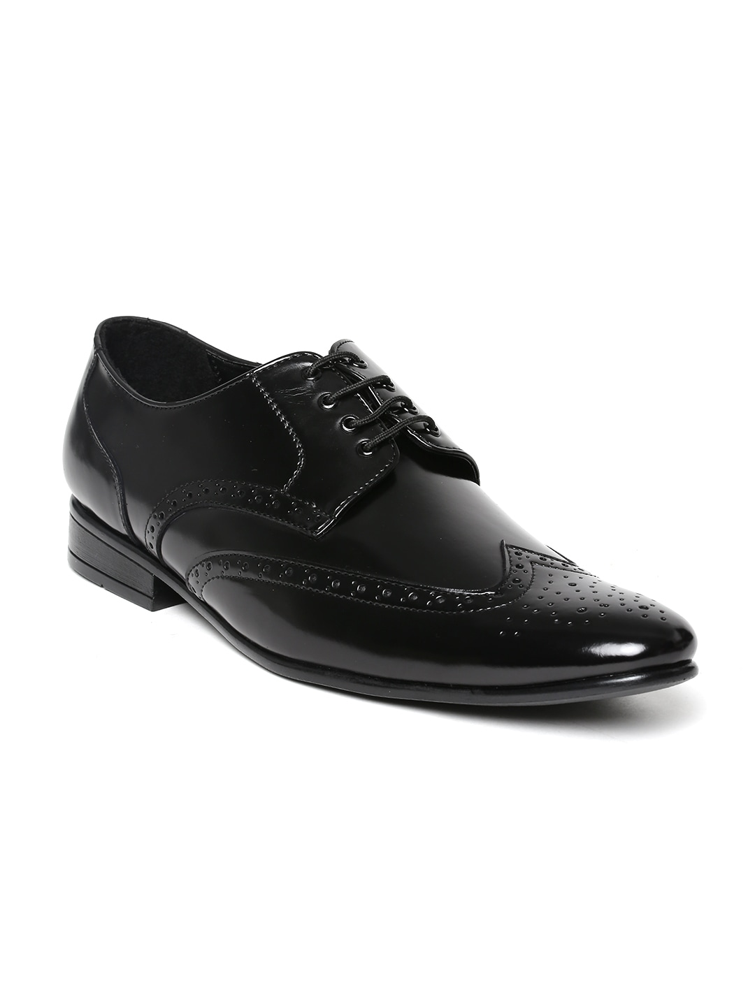 Get San Frissco Black Formal Men's  Shoes Online At Best Price