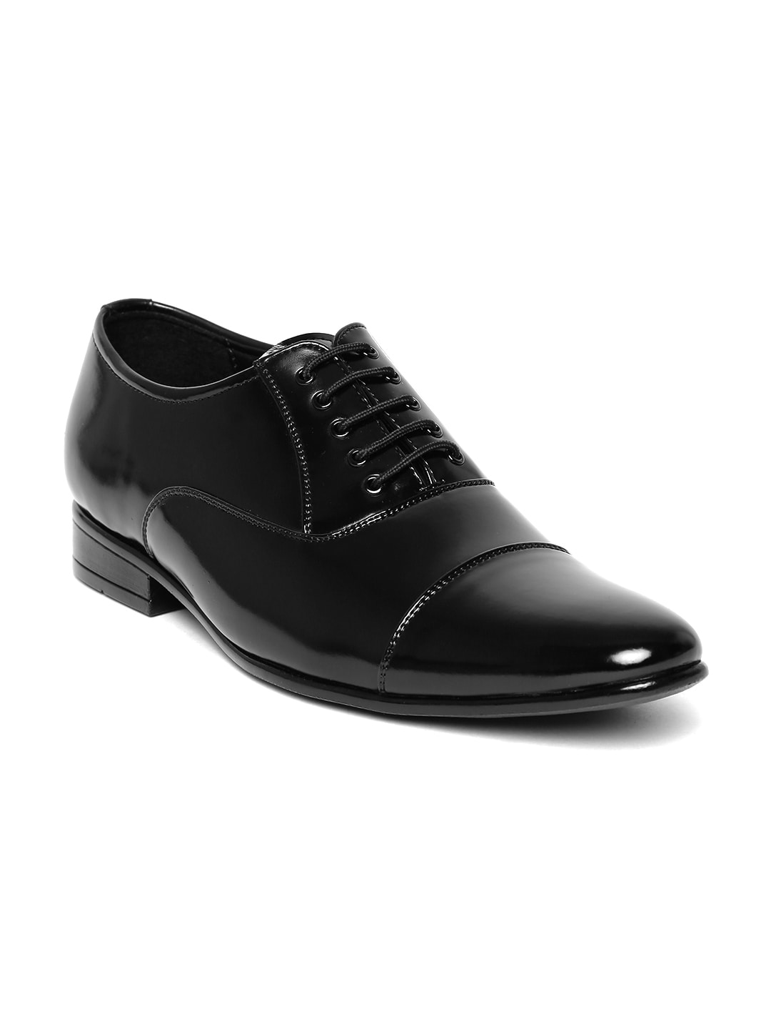 Buy San Frissco Black Patent Formal Men's  Shoes At Best Price