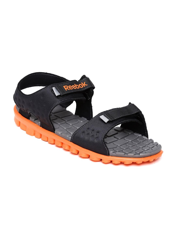 517d2b4c9126 Reebok v70314 Men Black And Grey Ultra Flex Sports Sandals- Price in India