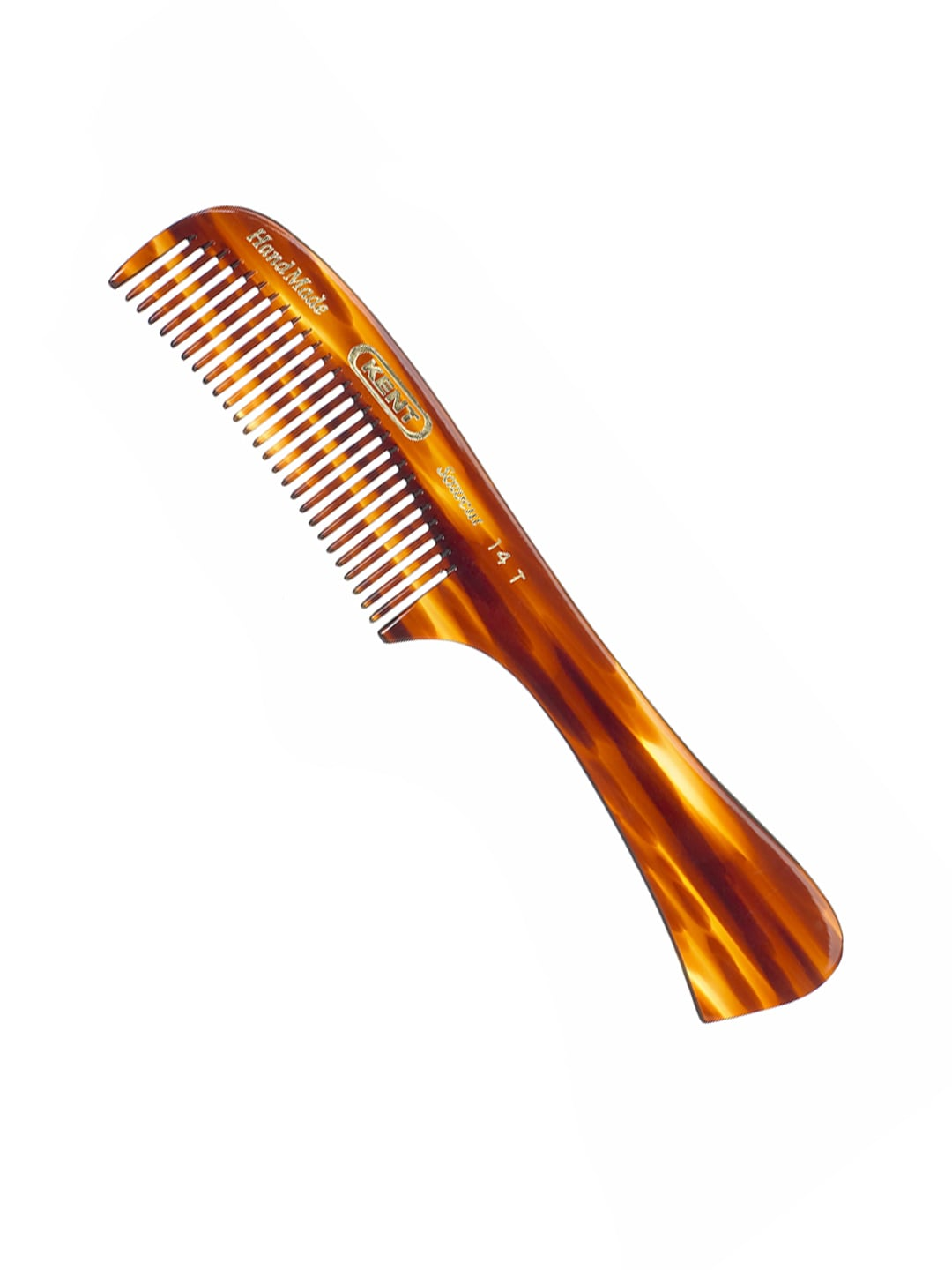 Kent Unisex Brown Handcrafted Comb 14T image