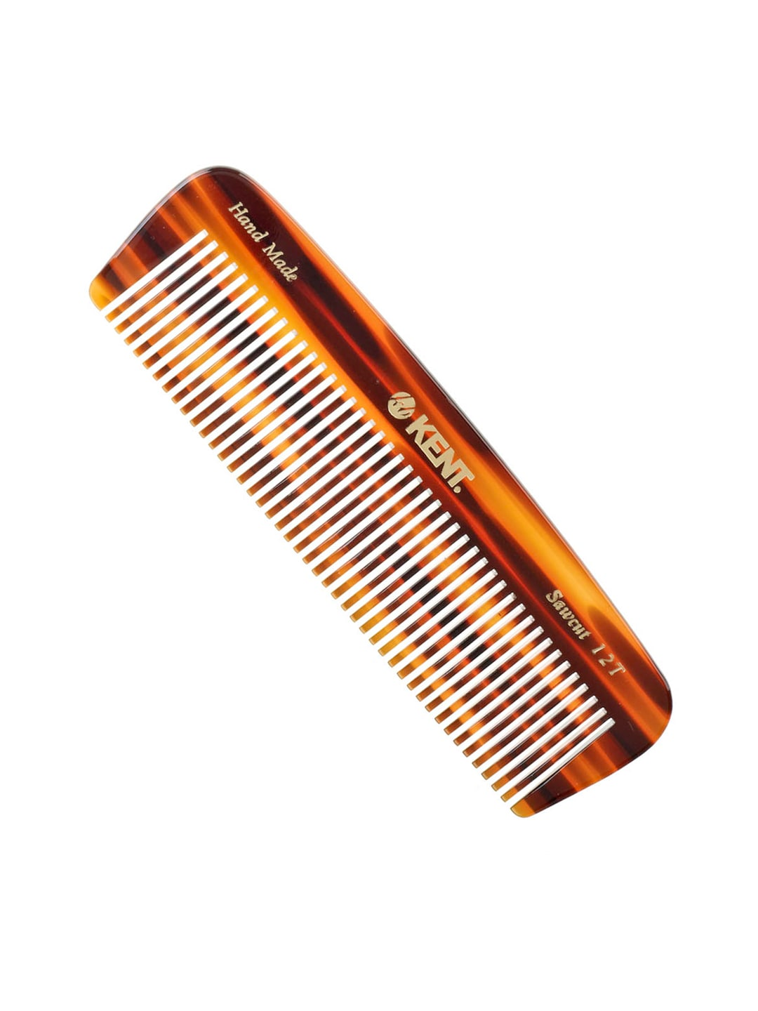 Kent Unisex Brown Handcrafted Comb 12T image