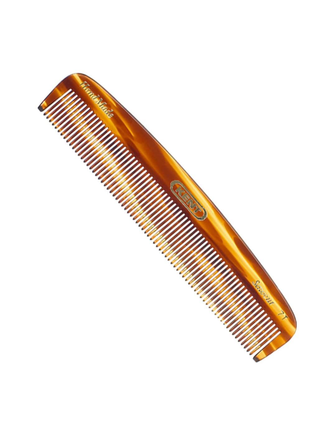 Kent Unisex Brown Handcrafted Comb 7T image