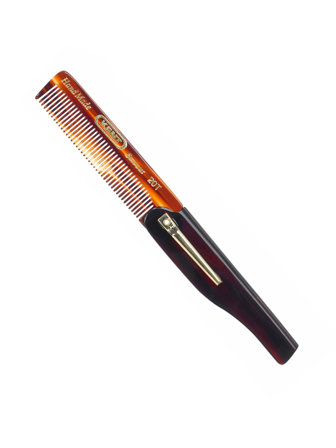 Kent Unisex Brown Handcrafted Comb 20T image