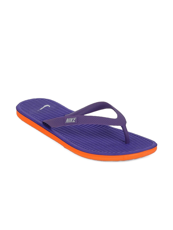 298e6795d Nike 488160-500 Men Purple Solarsoft Thong Flip Flops - Best Price ...