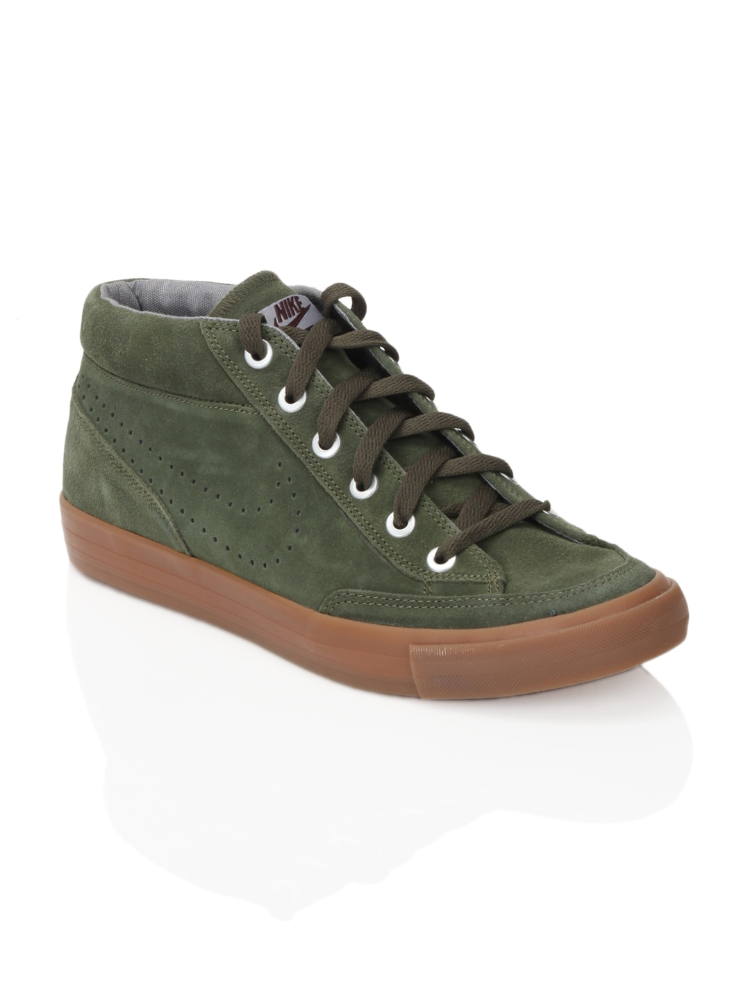 bruscamente Campanilla vulgar  Nike 487335-326 Men Chukka Go Suede Green Shoes - Best Price ...