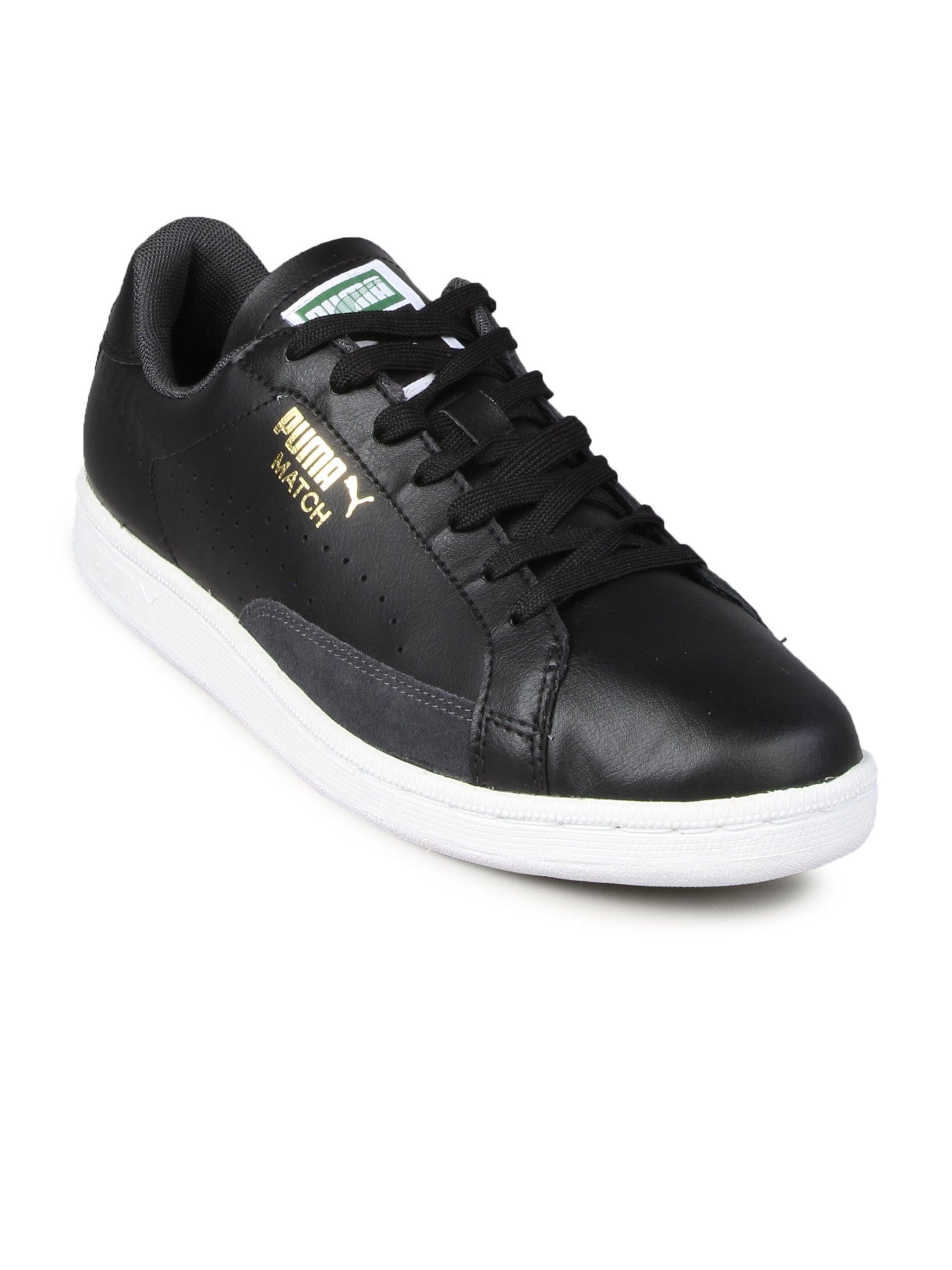 7edb39b671b Puma 35129003 Men Match Black White Shoe - Best Price in India ...