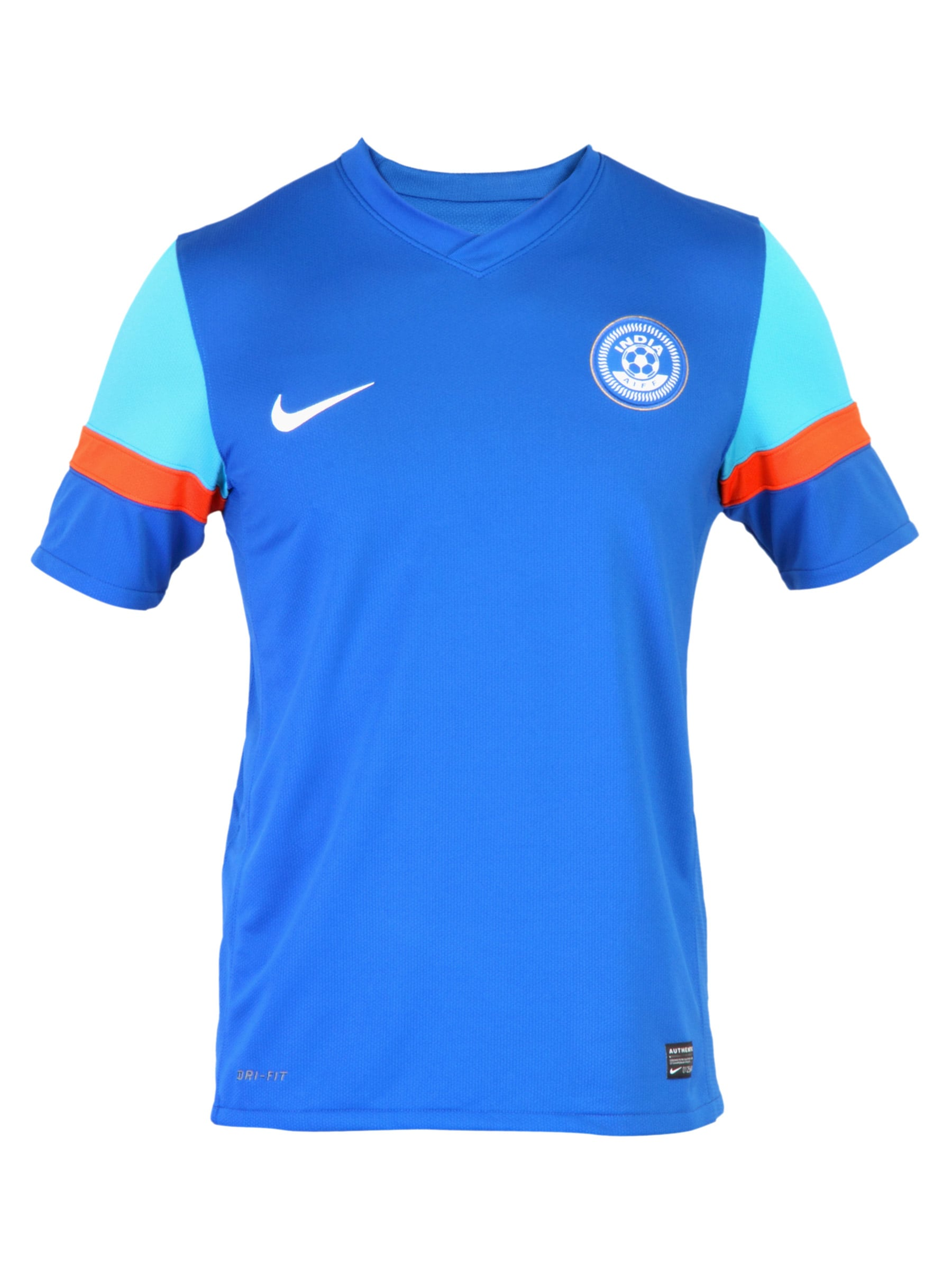 9fd59aa011 Nike 394907-490 Men India Football Jersey - Best Price in India ...