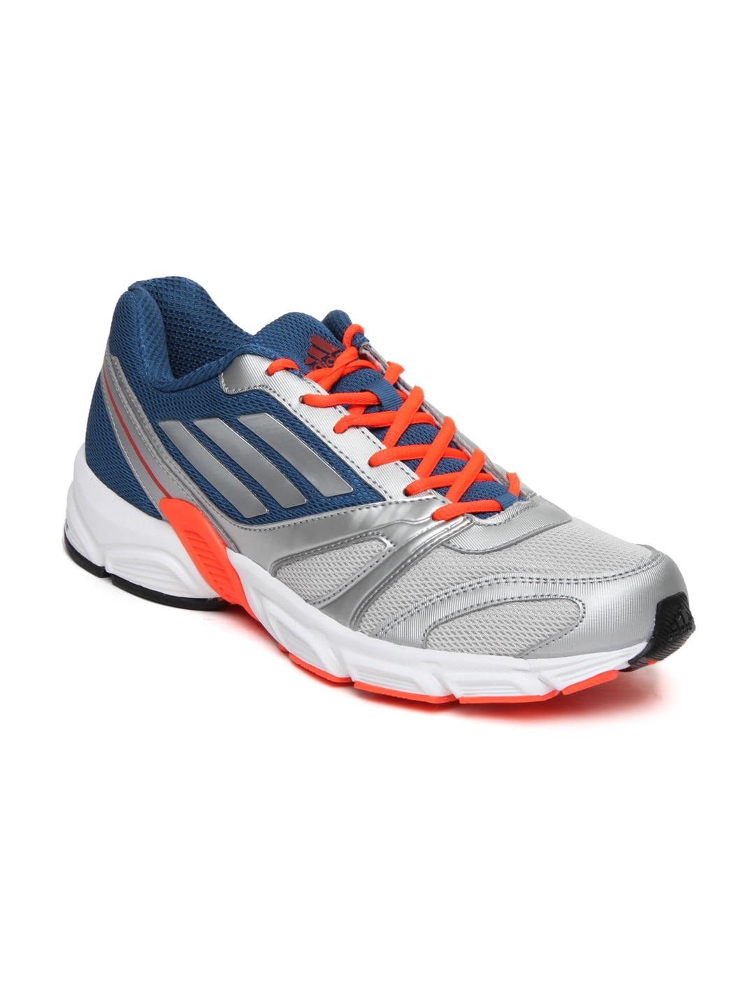 promo code d3705 cb00f Adidas d70674 Men Silver Toned And Blue Hachi M Sports Shoes- Price in India