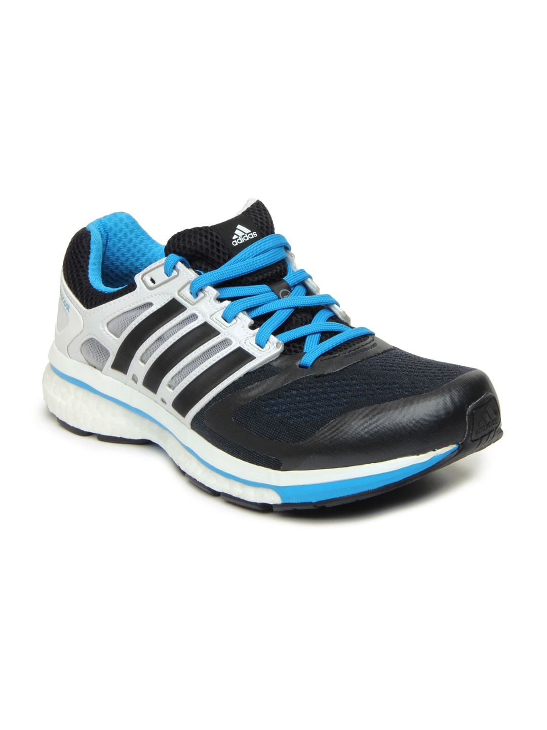 1f03ecf7a7fc4 Adidas f32276 Men Black And White Supernova Glide 6 Sports Shoes- Price in  India
